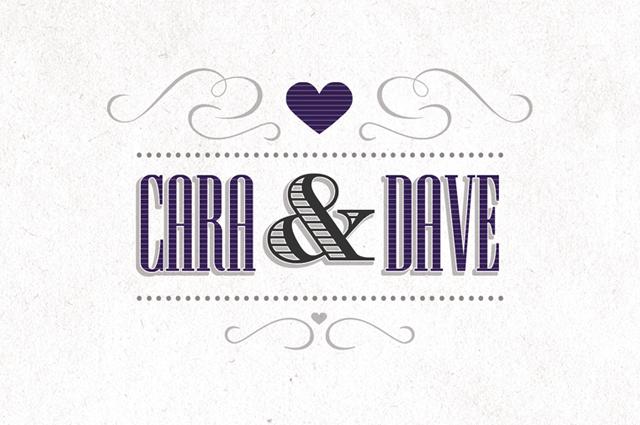 Cara + Dave